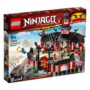 "LEGO® NINJAGO® 70670 ""Kloster des Spinjitzu"" NEU/OVP NEW MISB"