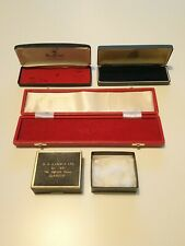 Antique Vintage Jewellery Boxes Job Lot Watch Box Cooper Brothers Glasgow