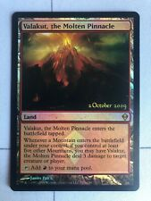 MTG, Foil, Valakut the Molten Pinnacle, Promo, Launch Party, LP