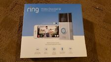 Ring Video Doorbell 2 (8Vr1S7-0En0) New, sealed box! Never opened, see pictures!