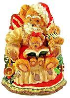 Santa Bear Christmas Musical Figurine