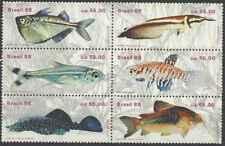Timbres Poissons Brésil 1896/1901 ** lot 27680