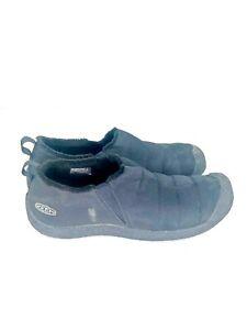 Keen Howser II Men's Shoes Black 1011882 Slip On Fleece Lining Cabin size 10