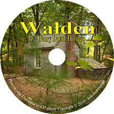 Walden by Henry David Thoreau – Nature Classic Audiobook  MP3 Audio Book on 1 CD