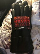 Mens Thermo-Feel Heated Winter Gloves Large
