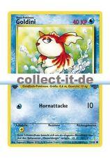 Pokemon Dschungel - First Edition 53/64 - Goldini - 1. Edition Deutsch