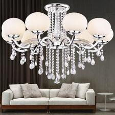 Luxury Modern Chandelier Crystal Ceiling Light Fixture Pendant Lamp 9 Light XMAS