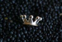 Krone Silber / mit massiv 18kt Goldreif für Charlotte 21 / RD