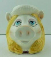 Vintage Miss Piggy Coffee Mug Muppet Show Jim Henson Sigma Tastesetter 3D Cup