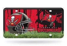 Tampa Bay Buccaneers Metal License Plate Tag