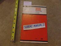 CASE Model 60 Loader Operator's Manual  9-4634-M
