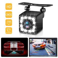 170° CMOS Car Rear View Backup Camera Reverse 12LED Night Vision Waterproof NEW