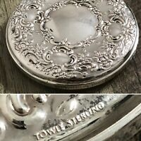 Vintage Towle Sterling Silver Round Compact Mirror ~ No Monogram