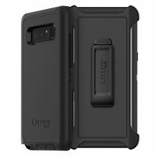 Genuine OtterBox Samsung Galaxy Note 8 Defender Case Cover & Belt Clip Black
