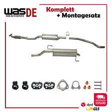 Auspuff Opel Corsa D 1.0 2006-2010 Schalldämpfer Komplette Auspuffanlage
