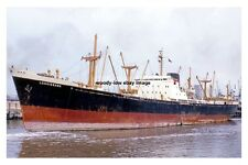 mc4278 - Bank Line Cargo Ship - Lossiebank , built 1963 - photo 6x4