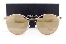 73068fa66b8d Brand New Prada Sunglasses 62SS ZVN 1C0 Gold Gold Mirror for Women