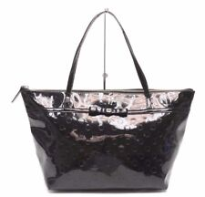 kate spade black patent leather tote handbag/shopper $395