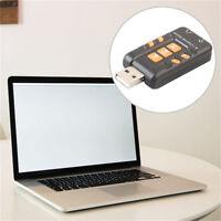 USB-Soundkarte 3D 8,1-Kanal Virtual-CH-Audio Adapter Verstärker-Soundkarten