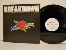 Tom Petty & The HBs 'Breakdown' Promo Only 12-inch single 1977 Shelter Records