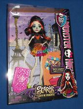 NEW IN BOX Monster High Scaris Skelita Calaveras Doll -Daughter of Los Eskeletos