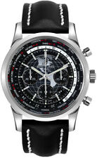 Brand New Breitling Transocean Chronograph Unitime Luxury Watch AB0510U4/BE84