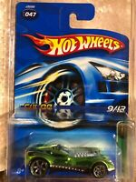 🚨 2005 Hot Wheels Treasure Hunt GREEN CUL8R 047 9/12 Super NICE🚨