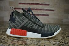 NEW Adidas NMD TS1 Primeknit Sneakers Casual Green Trace PK Mens Size 11.5