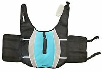 Alcott Mariner Pet Life Jacket with Reflective Accents & Support Handle Lg Blue