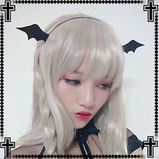 Sweet Lolita Black Gothic Japanese Devil Cute Headband Hair Band hair accessory
