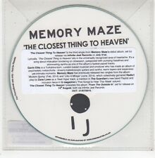 (GD983) Memory Maze, The Closest Thing To Heaven - 2015 DJ CD