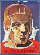 1933 The California Gridiron California v. St. Mary's Program 127015