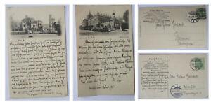 potsdam 1905 2 x schloss babelsberg / neues palais / verlag l.saalfeld berlin