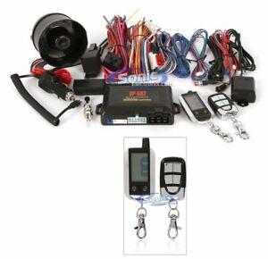 Crimestopper SP-502 2-way Paging Remote Start Keyless Entry Car Alarm System