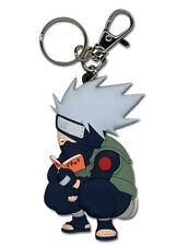 **License** Naruto PVC Keychain Copy Ninja SD Kakashi Reading The Paradise #3573