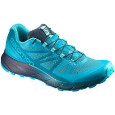Womens Salomon Sense Ride Womens Trail Running Shoes - Blue