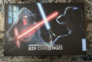 Lenovo Star Wars Jedi Challenges Lightsaber AR VR Game Headset  - Lightly Used