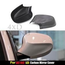 2009 - 2012 for BMW E87 E82 LCI Carbon Fiber Mirror Cover Stick On Type