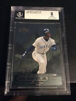 1998 Metal Universe #161 Ken Griffey Jr. Seattle Mariners BGS 8 Graded Original