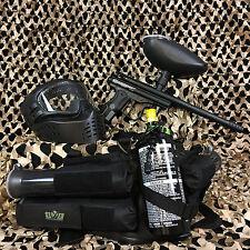 NEW Kingman Spyder Victor EPIC Paintball Marker Gun Package Kit - Diamond Black