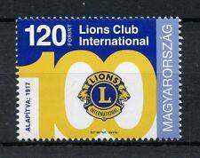 Hungary 2017 MNH Lions Club International 100th Anniv 1v Set Stamps