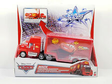 Disney Pixar Cars Stunt Racers MACK Transforming Transporter NEW