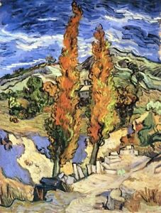 Hand Painted Oil Painting Reproduction By Vincent Van Gogh 60cm By 50cm