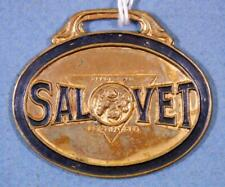 S R Feil Co Salvet Worm Destroyer Vet Meds Cleveland Ohio Watch Fob tr30-11