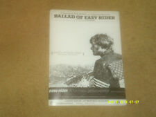 BYRDS sheet music Ballad of Easy Rider 1969 5 pages (VG- shape)