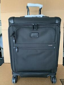 Tumi Alpha 2 Front Lid Continental Zip Expandable Rolling Carry-On 22561 $725