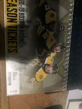 2018-19 Boston Bruins Season Ticket Book St. Louis Blues Stanley Cup Game 7 Stub