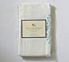 "Pottery Barn Euro Pillow Sham Parvati Printed 100% Cotton Cream& ray 26""sq New"