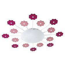 Eglo VIKI 1 - Ceiling Lighting (indoor Pink White Round Steel Ip20)