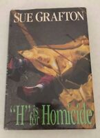Sue Grafton, H is for Homicide, 1st ed., 1st print., signed